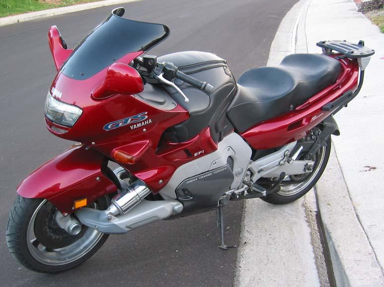 moto yamaha gts 1000